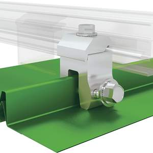 A2-N Color Snap Metal Roof Snow Rail System
